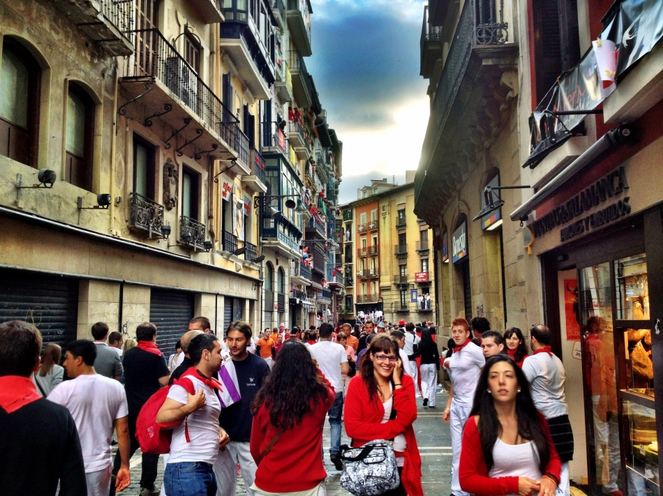 Running of the Bulles San Fermines