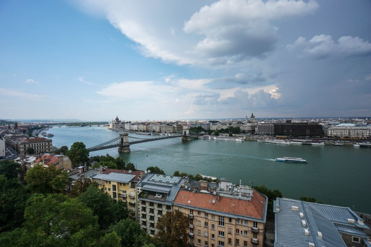 Danube and Chain Bridge