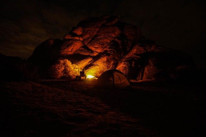 Campfire Illumination
