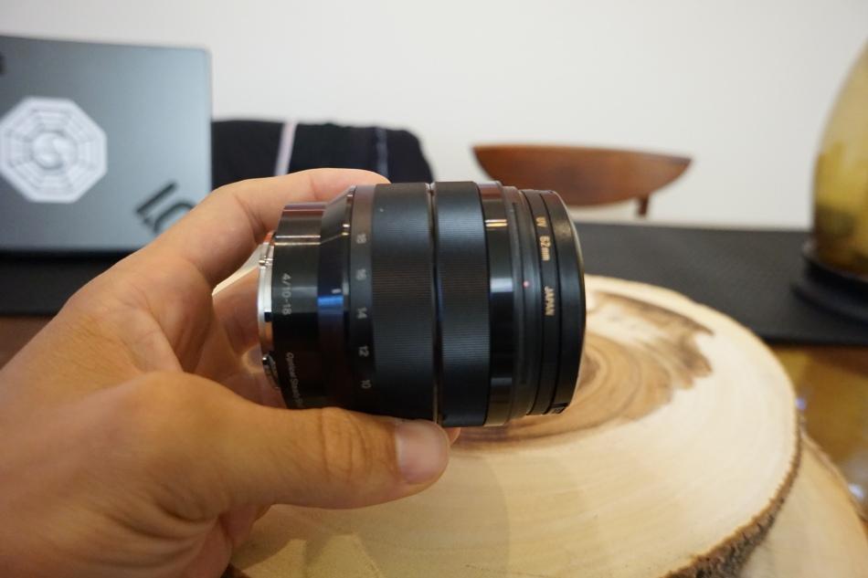Lens Grit In Focus Ring