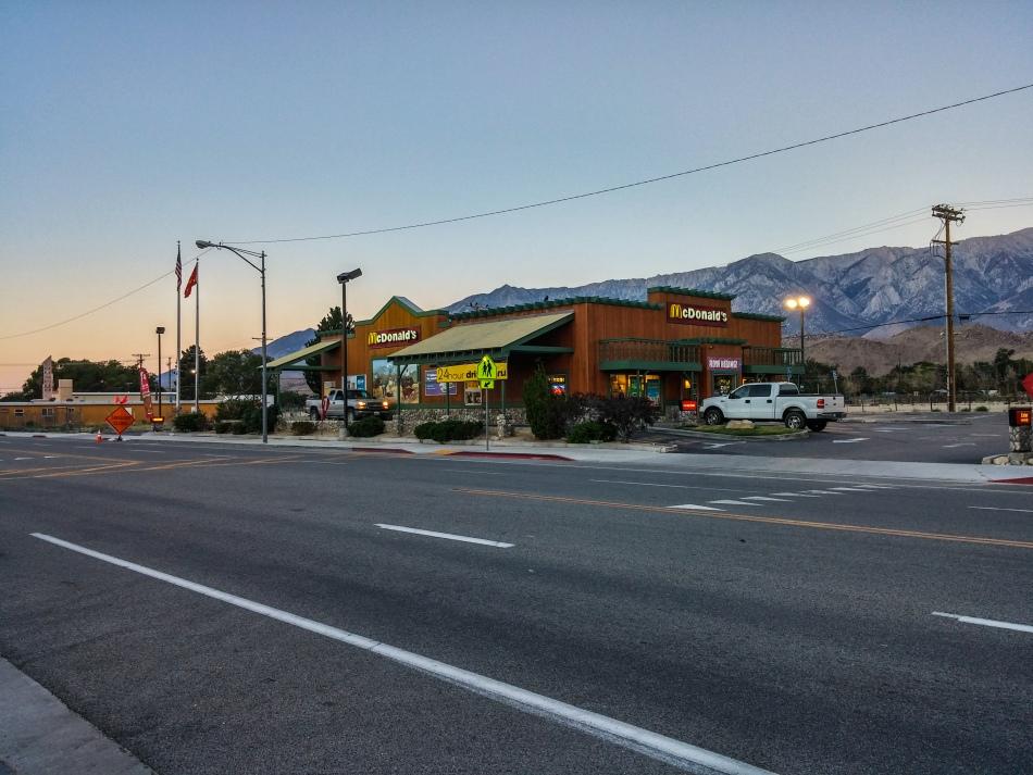 Lone Pine McDonald's