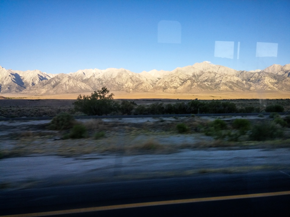 En route to Mammoth and Yosemite