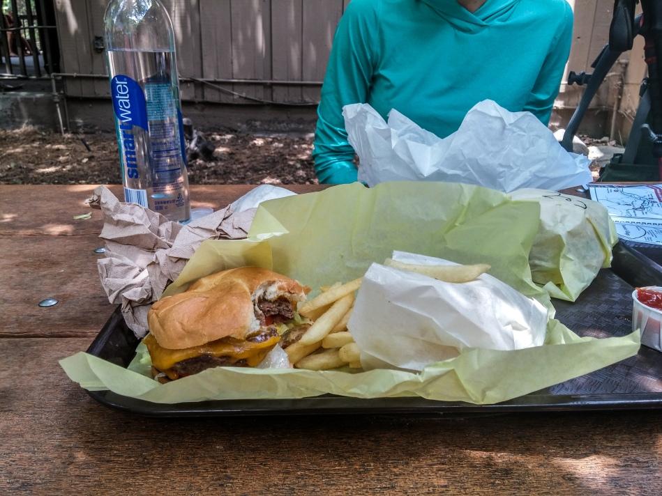 Yosemite Grill Burgers