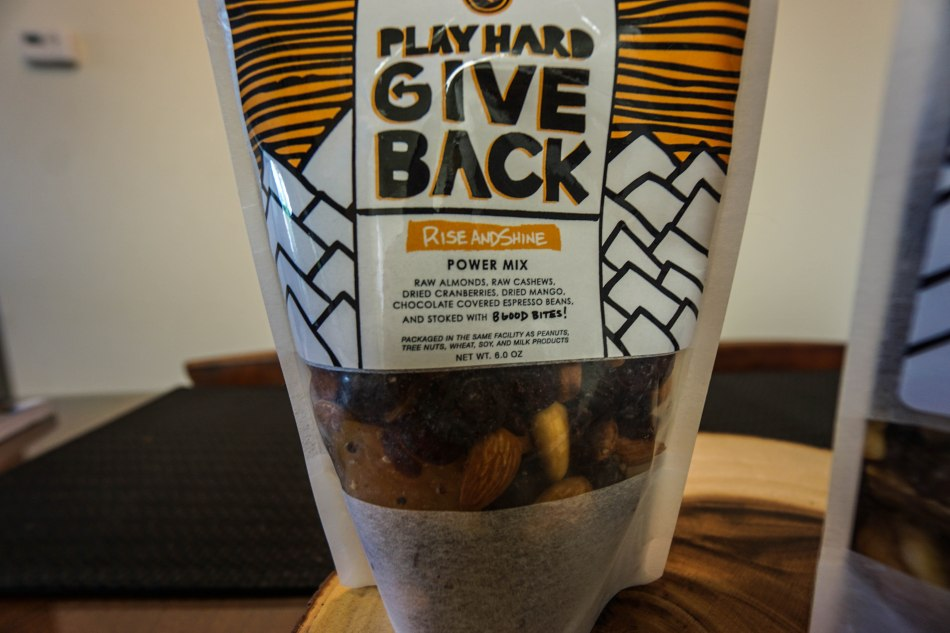 Play Hard Give Back Bars and Mix
