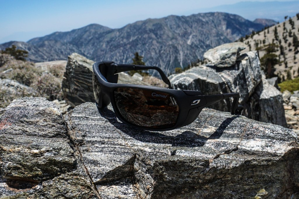 Julbo Bivouak Sunglasses With Camel Photochromic Polarized Lenses
