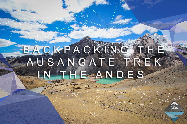 Ausangate Trek Peru Trail to Peak