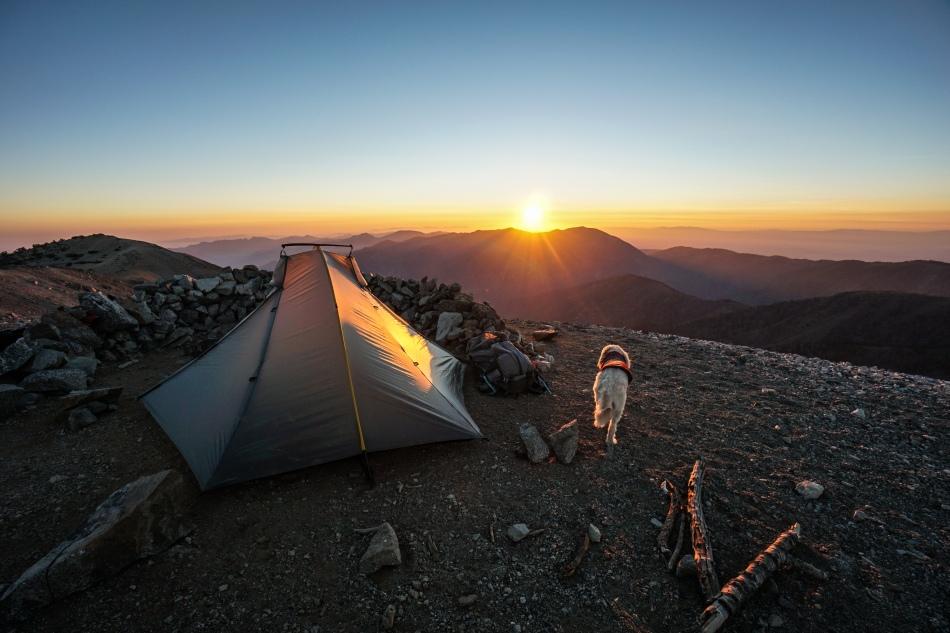 Mt. Baldy via Ski Hut Trail Backpacking