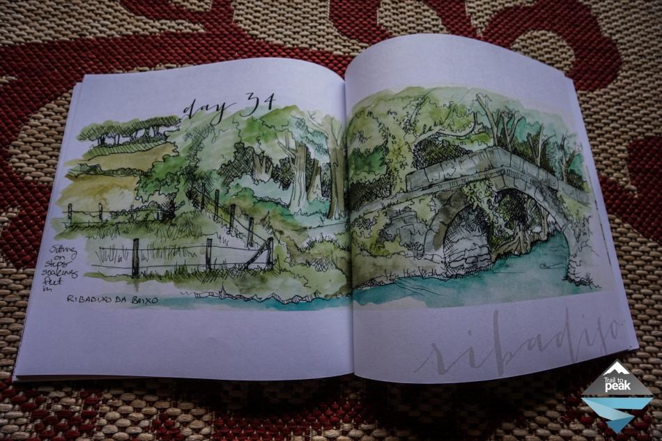 Camino de Santiago Book The Art of Walking Kari Gale