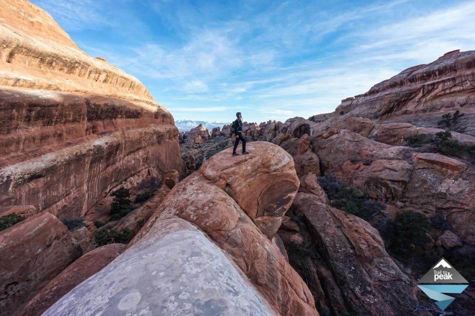Arches National Park: Hiking Through Devil's Garden To Landscape Arch