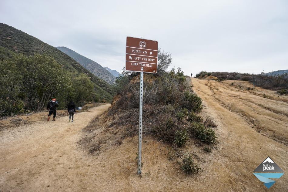 Potato Mountain Evey Canyon Claremont Wilderness Park Hike