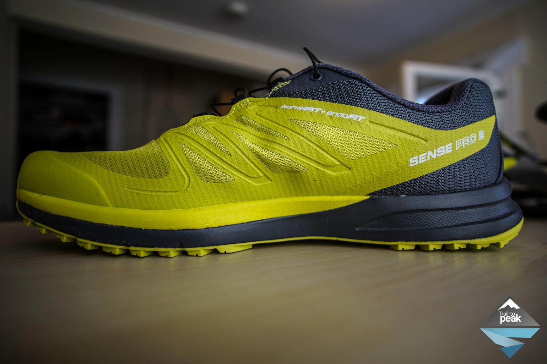gear review salomon sense pro 2 trail shoe. Black Bedroom Furniture Sets. Home Design Ideas