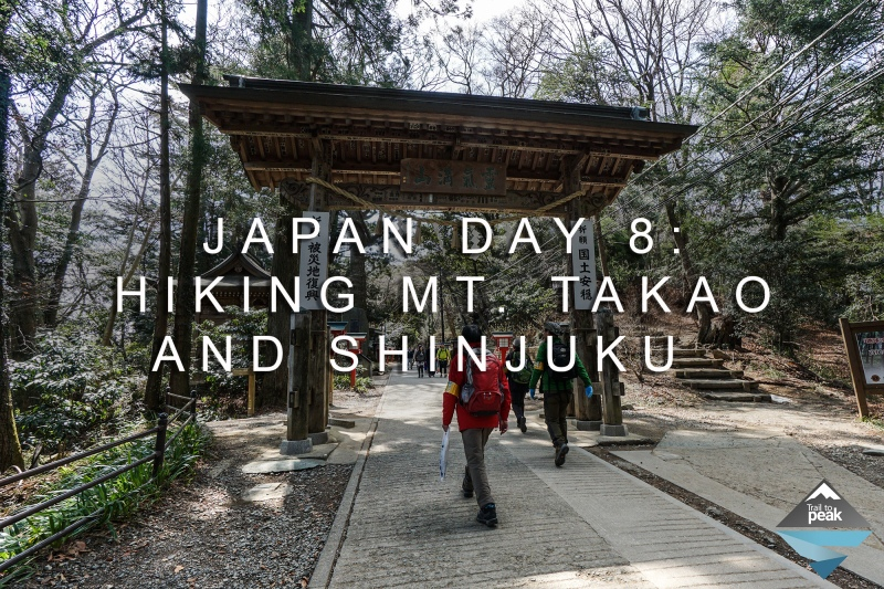 Japan Day 8: Hiking Mt. Takao And A Visit To Shinjuku