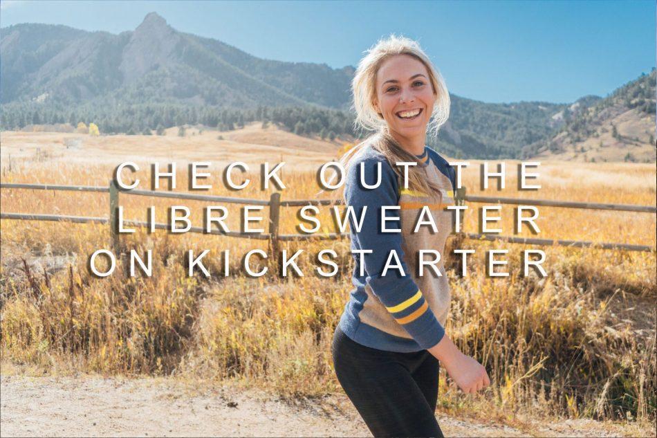 Cotopaxi Libre Sweater Kickstarter