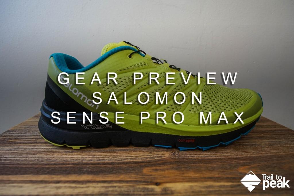 Salomon Sense Pro Max Shoe Preview Review Trail Running Hiking