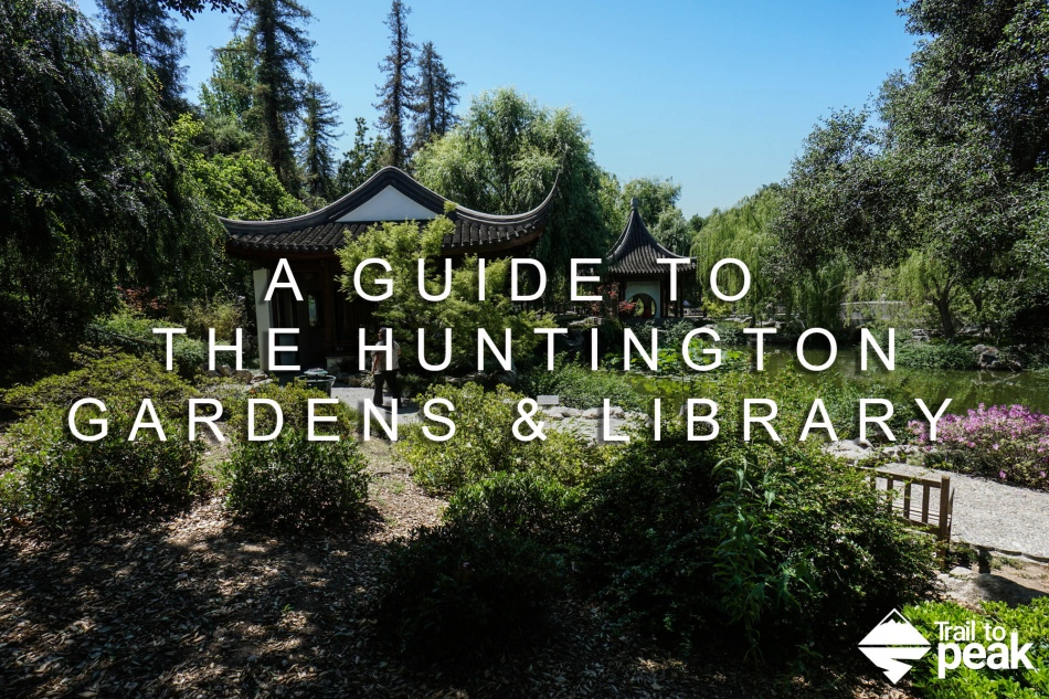 A guide to the Huntington gardens library and art collection